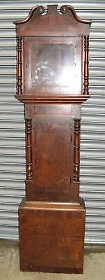 Old Oak Grandfather Clock Case to suit 12 inch Dial