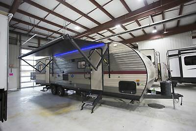 Grey Wolf 27Rr Toy Hauler Travel Trailer Camper Rv