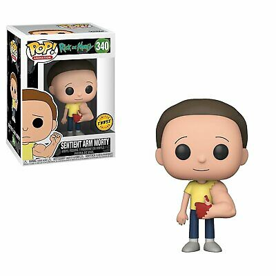 Funko Pop Animation Rick and Morty Sentient Arm Morty Chase Vinyl Figure