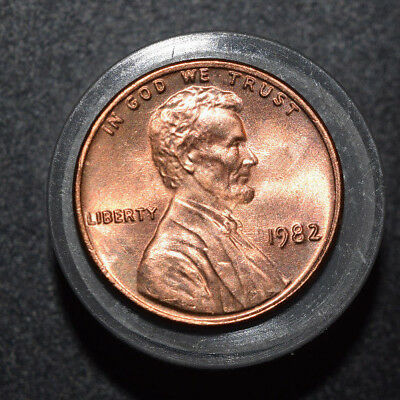 1982 P LARGE DATE COPPER LINCOLN CENT ROLL PENNY   UNCIRCULATED