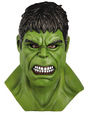Thor Ragnarok Adult Incredible Hulk Marvel Overhead Latex Mask