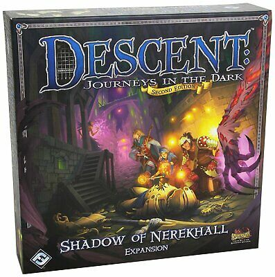 Descent: Journeys In The Dark: Shadow Of Nerekhall Board Game FFG DJ07