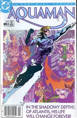 Aquaman (1st Limited Series) #1 1986 VG Stock Image Low Grade