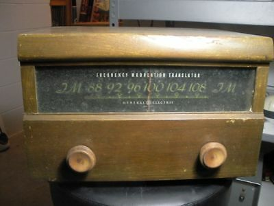 GE XFM-1 FM tuner. One of the very first FM tuners ever built. Needs restoration