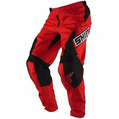 SHIFT KIDS MOTOCROSS PANTS NEW #22  honda Red  YOUTH BMX Dirt bike MX