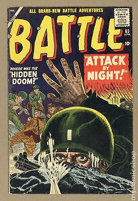 Battle (Atlas) #63 1959 GD+ 2.5