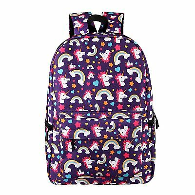 Bonama Unicorn Rainbow Bag Fantasy Backpack Rucksack School Student Travel Bags