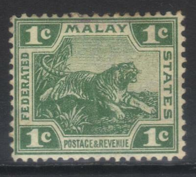 Federated Malay States 1904-1922 Defins Sg29 Mh Cat £15