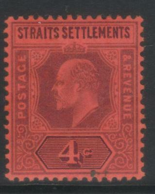 Straits Settlements 1902-1903 Crown Ca Sg112 Mh