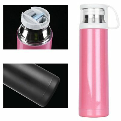 Long Insulation 500ML Stainless Steel Coffee Mugs Cups for Office Car NEW OT