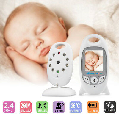 Wifi Wireless Digital HD Video 2 inch Baby Monitor LCD 2 Way Talk Night Vision