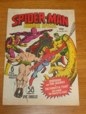 Spiderman British Weekly Summer Special 1979 Marvel