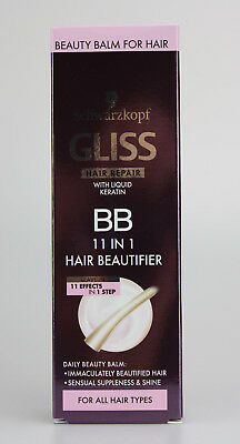 Gliss Haar Reparatur BB 11in1 Haarbalsam 3 X 50ml