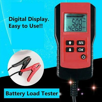 AE300 12V Vehicle Car Digital Battery Test Analyzer Accurate Diagnostic red NJ