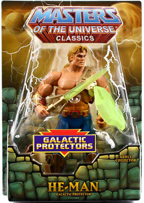 Masters of the Universe Figur OVP Motu Classics Galactic Protector He-Man