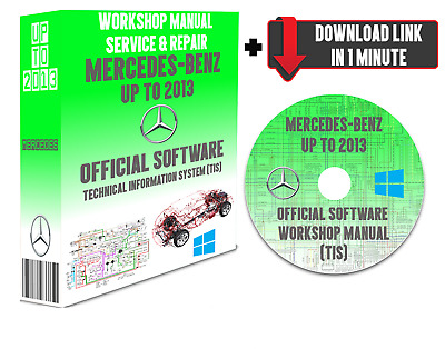 Official Repair Software Manual For All Mercedes-Benz Models From 1967 To 2013