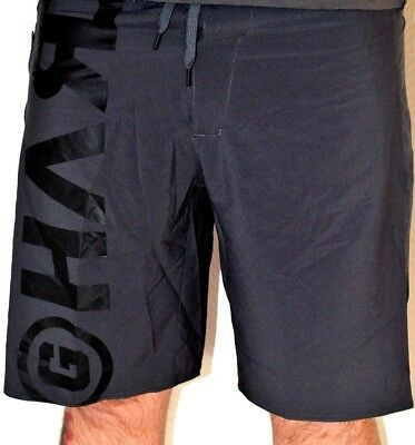 REEBOK One Series OS Crossfit Shorts Fitness LTWT Workout Boardshorts Schwarz