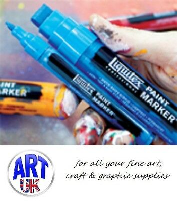 Liquitex PAINT MARKER PENS professional artists acrylic pigment fine/wide tipped