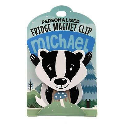 Fridge Magnet Clip Michael