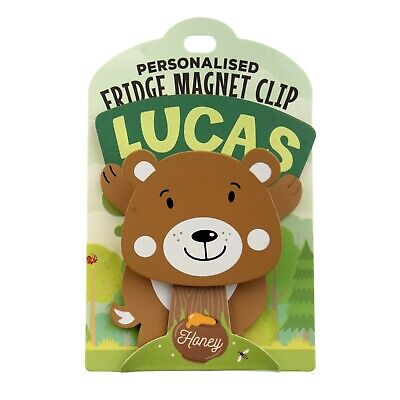 Fridge Magnet Clip Lucas