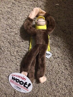 WOOT! FLYING SCREAMING MONKEY- Banana CAPE -BRAND NEW w/ TAGS!! Collector's item