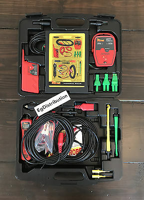 Power Probe 3 Master COMBO Test Kit with Gold Leads Short Finder Tester PPKIT03S