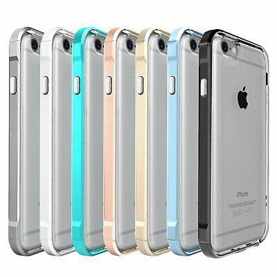 For Apple iPhone 6/7/8 Plus Transparent Clear Shockproof Bumper Case