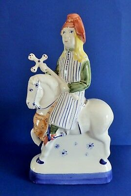 Rye Pottery ~ Canterbury Tales ~ ' The Pardoner'