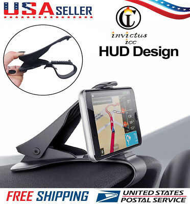Car Dashboard Mount Holder Stand HUD Design Cradle Clip Cell Phone GPS Universal