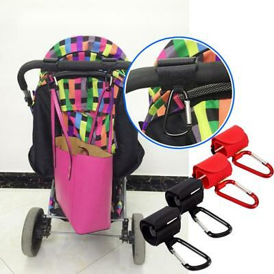 New Baby Buggy Clips Large Pram Pushchair Shopping Bag Hook Mummy Carry