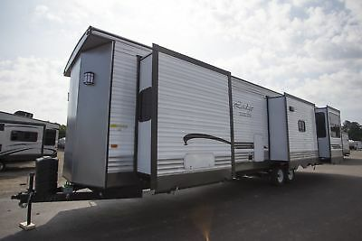For Sale New Forest River Wildwood Lodge Park Trailer RV Model 395RET Buy Now