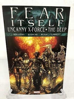 Fear Itself Uncanny X-Force/The Deep Marvel Comics TPB Trade Paperback NEW