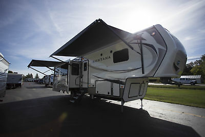 2018 Montana 3130RE Rear Entertainment 5th Wheel Camper by Keystone RV