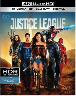 Justice League (2017) (REGION A Blu-ray New) 883929572403