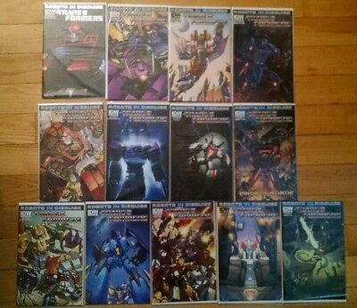 Transformers 2012 IDW Robots Disguise 1 2 3 4 5 6 7 8 10-14 29 31-33 Run Lot Set