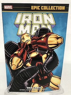 Iron Man Epic Collection War Games 258-277 Marvel Comics TPB Trade Paperback NEW