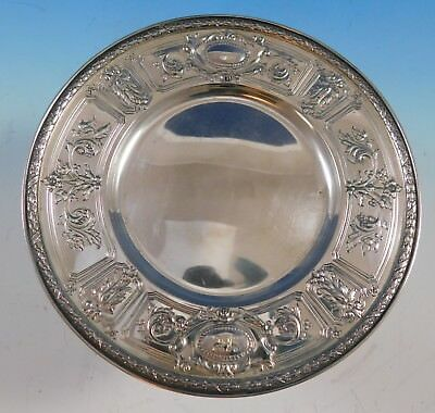 "Maintenon by Gorham Sterling Silver Dessert Plate with Monogram ""K"" (#2243)"
