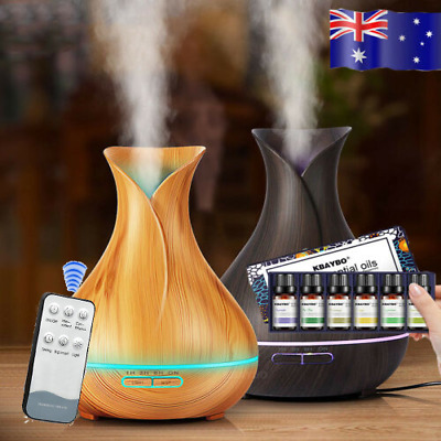 400ml 7 Colors LED Humidifier Diffuser Air Aroma Aromatherapy Mist Maker