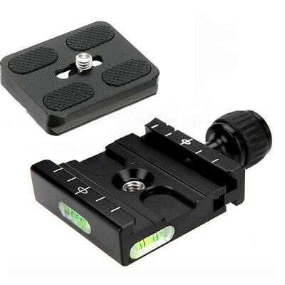Metal Clamp & 50mm Quick Release Plate for Acratech  Arca-Swiss Tripod Ball Head