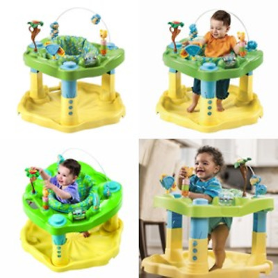 Exersaucer Baby Bouncer Jumper Learning Activity Zoo Center Boy Infant Standing