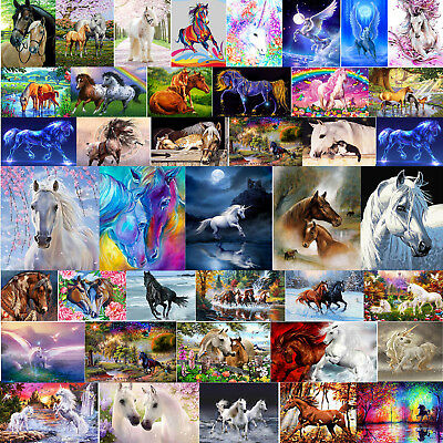 5D DIY Pferd Diamond Painting Diamant Stickerei Malerei Bilder Stickpackung