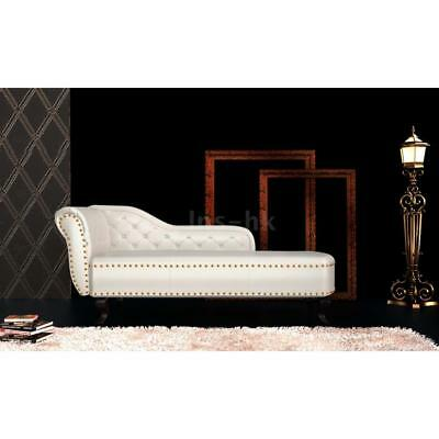 Chaise Longue Chesterfield Poltrona Chesterfield Crema Nuova H4C0