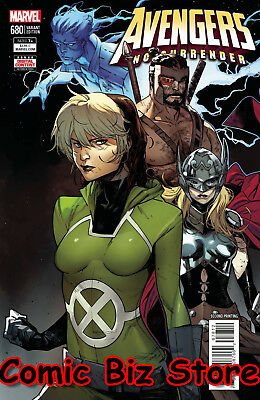 Avengers #680 (2018) 2Nd Printing Jacinto Variant Cover No Surrender Legacy