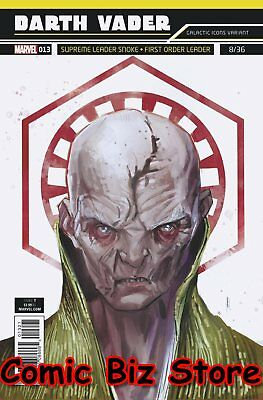 Star Wars Darth Vader #13 (2018) 1St Printing Reis Galactic Icon Variant Cover