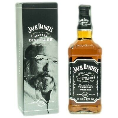 Jack Daniel's Master Distiller Series No. 5 + GB 1000ml 43% Vol.