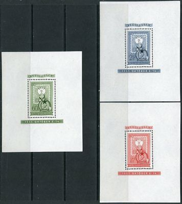 Hungary Stamp Centenary Scott#c95,cb13/14 Perf & Imperf S/s's  Mint Never Hinged