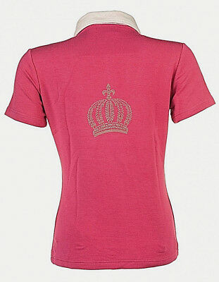 Neues Glööckler by HKM Poloshirt Turniershirt Golden Crown