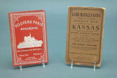 4 items: 2 pocket maps, school atlas, almanacs. Lot 251
