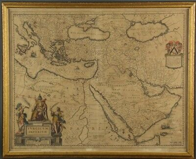 Turcicum Imperium. Map. Bleau, [early-mid 1600s]. Lot 219