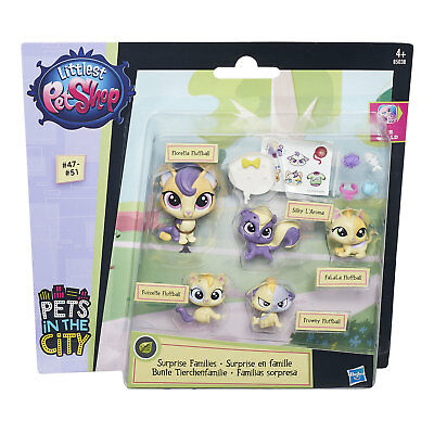 Littlest Pet Shop Surprise Families CALICOS Mini Pet Pack (B5038) Cats Hasbro